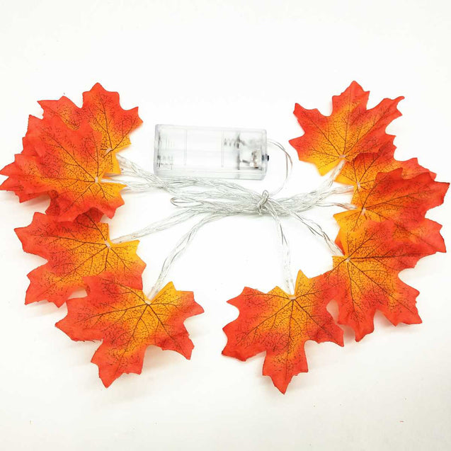 Creative Maple Leaves Led Lights String- 12737