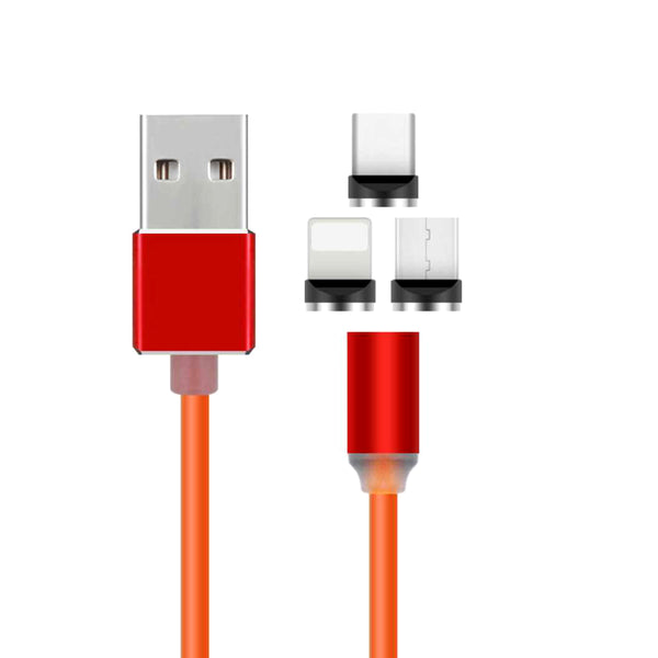 360 Degree Three In One Head Data Cable(Android, Apple And Type-C)-12230