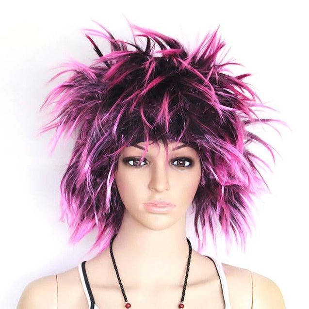 colorful hear wig, party prop, Halloween, fluffy, headgear