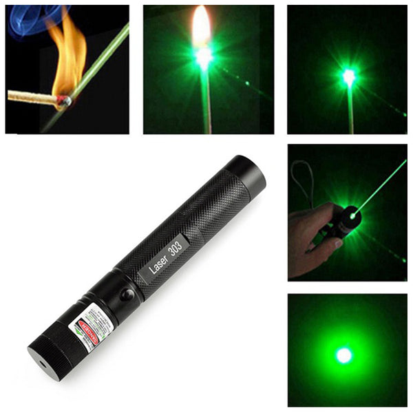 5Mw Military Green Laser Pointer Pen - 14278