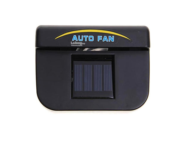 Auto Solar Powered Ventilation Fan for Car Car Utilities - GlobePanda