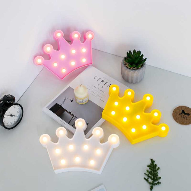 Creative Crown Style Led Lights - 12698
