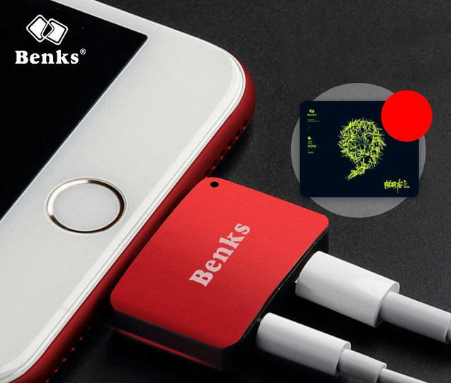 7 Benks Apple Headphone and Cable Adapter Combo Chargers & Cables - GlobePanda