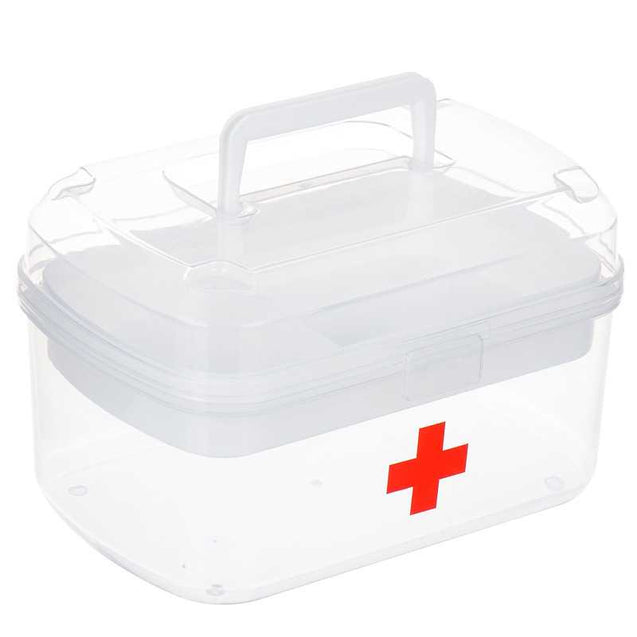 Plastic Made First Aid Box For Family -11322