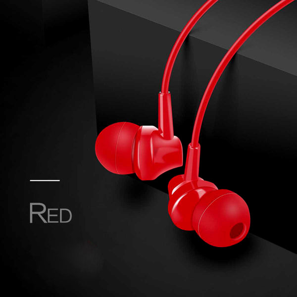 Wired Earbud Earphone With Mic-7894