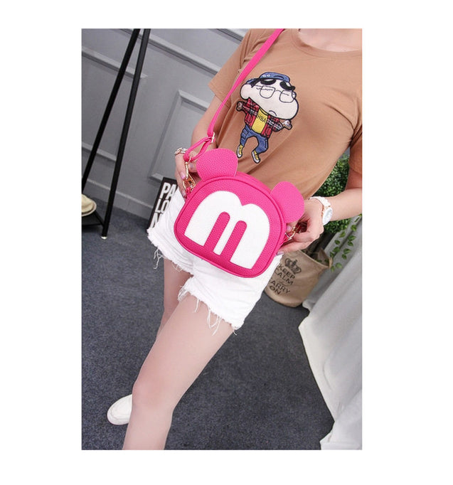 Motif New Fashion Mickey Shoulder Bag - 26898