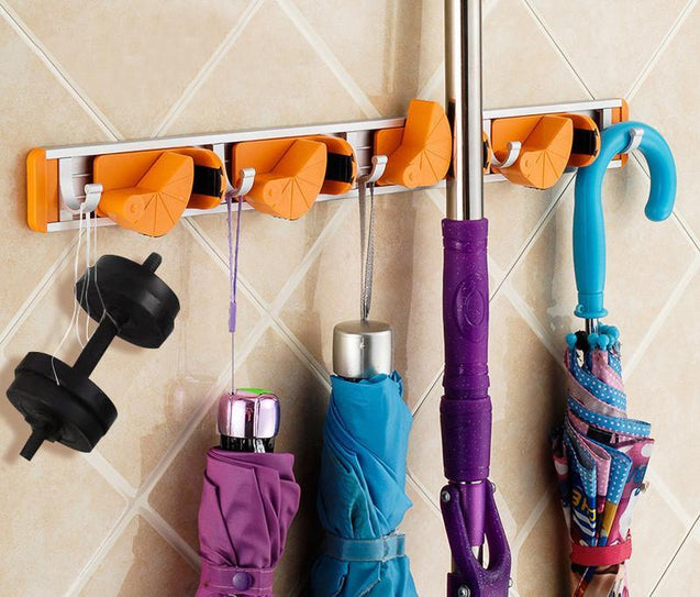 Aluminium Bathroom Accessories Hanging Hook Bathroom Utilties - GlobePanda