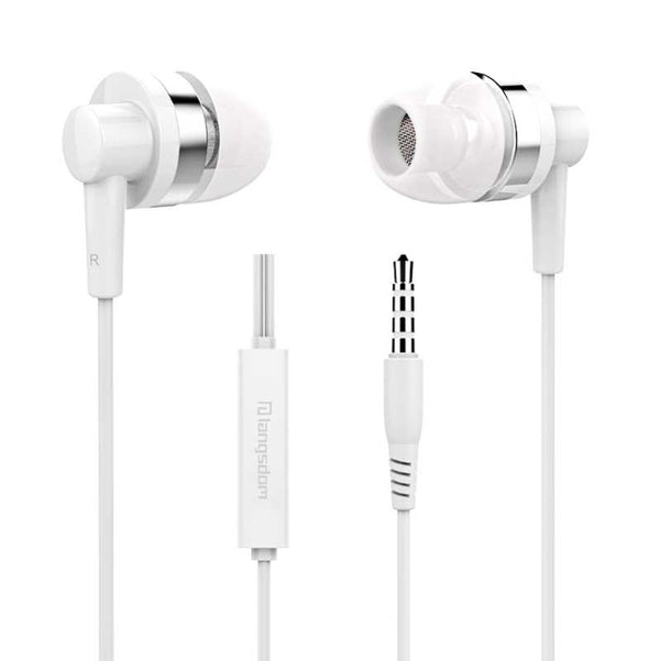 Wired Earbud Earphone With Mic-7823