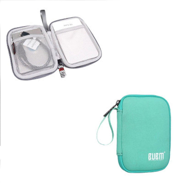BUBM Shockproof Mobile and Hard Disk Protective Sleeve Storage Drives - GlobePanda