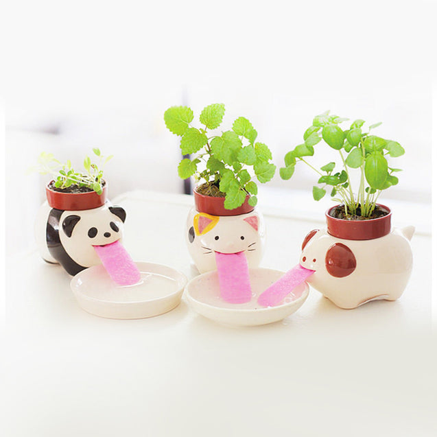 Peropon Drinking Animal Planter - 14309