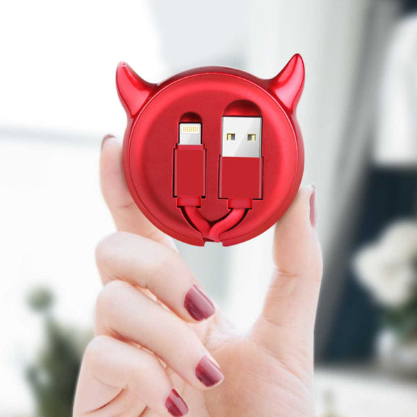 Devils Style Usb Data Cable(Apple/Android/Type-C) -12231