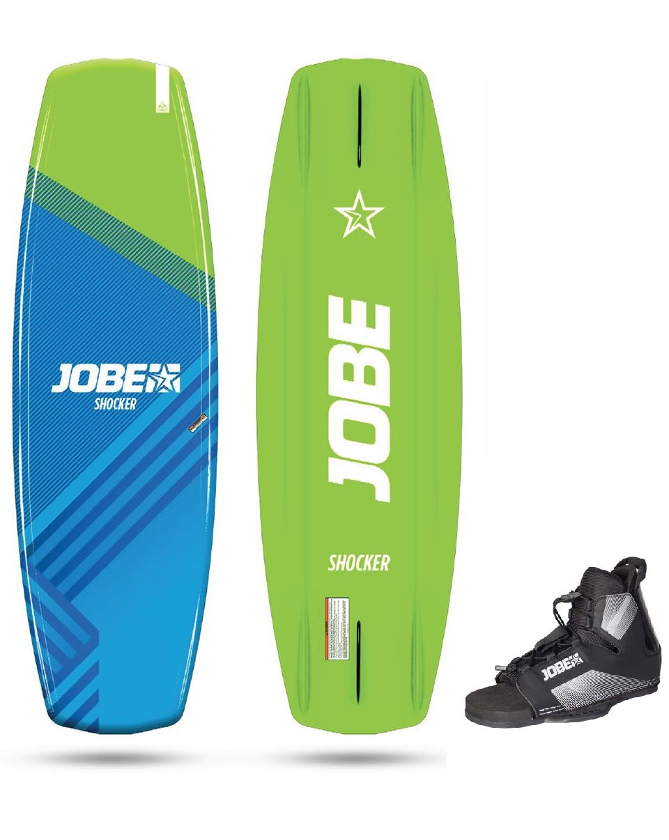 Jobe Shocker 141 Wakeboard & Maze Bindings