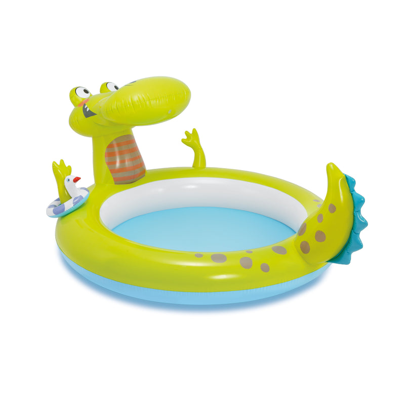 Intex Crocodile Spray Paddling Pool