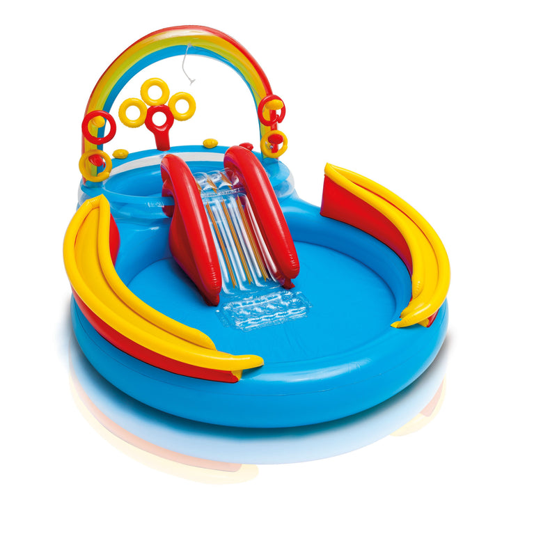 Intex Rainbow Ring Play Centre Paddling Pool