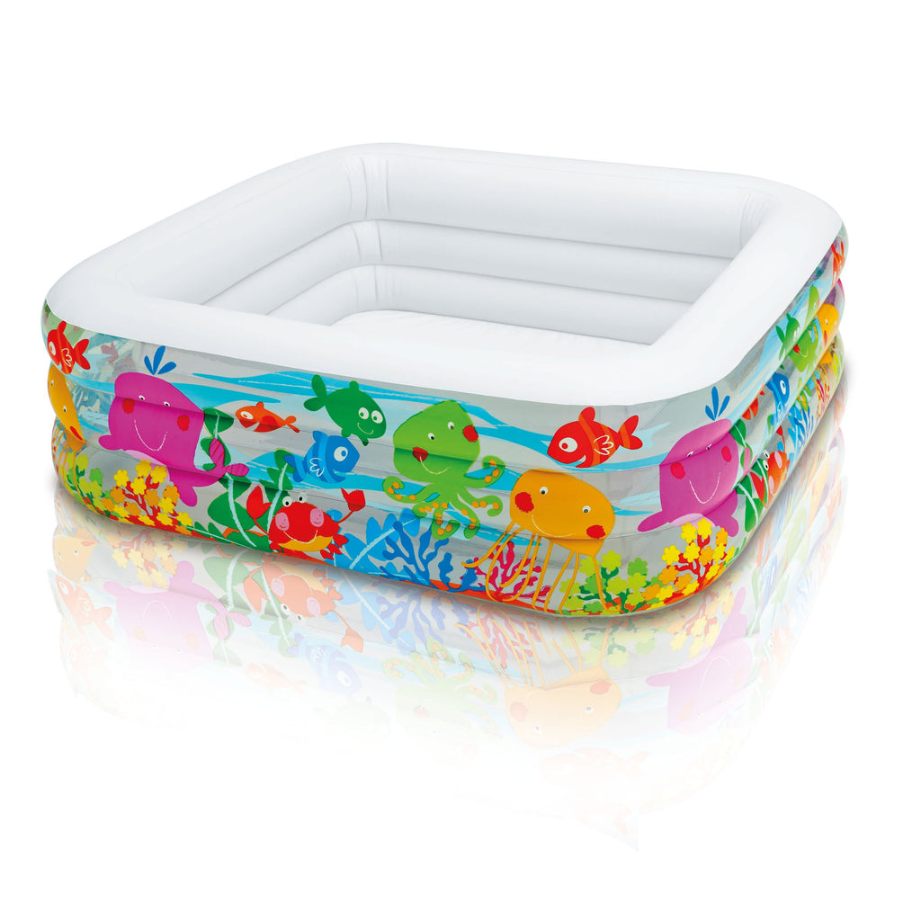 Intex Square Clearview Aquarium Paddling Pool