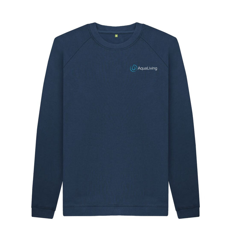 Navy Blue Men's Aqua Living Sweatshirt