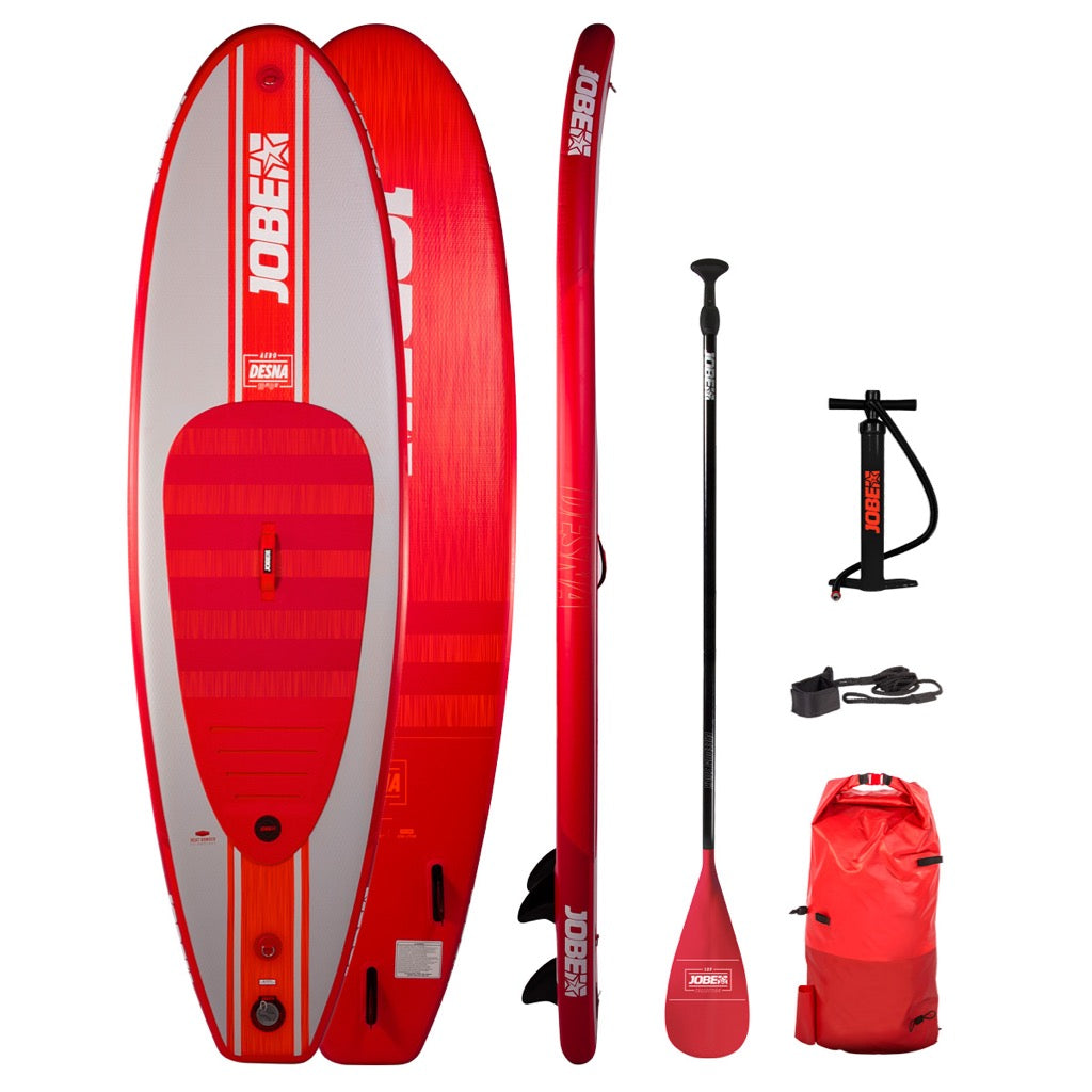Jobe Desna 10.0 Inflatable SUP Paddle Board Package 2020