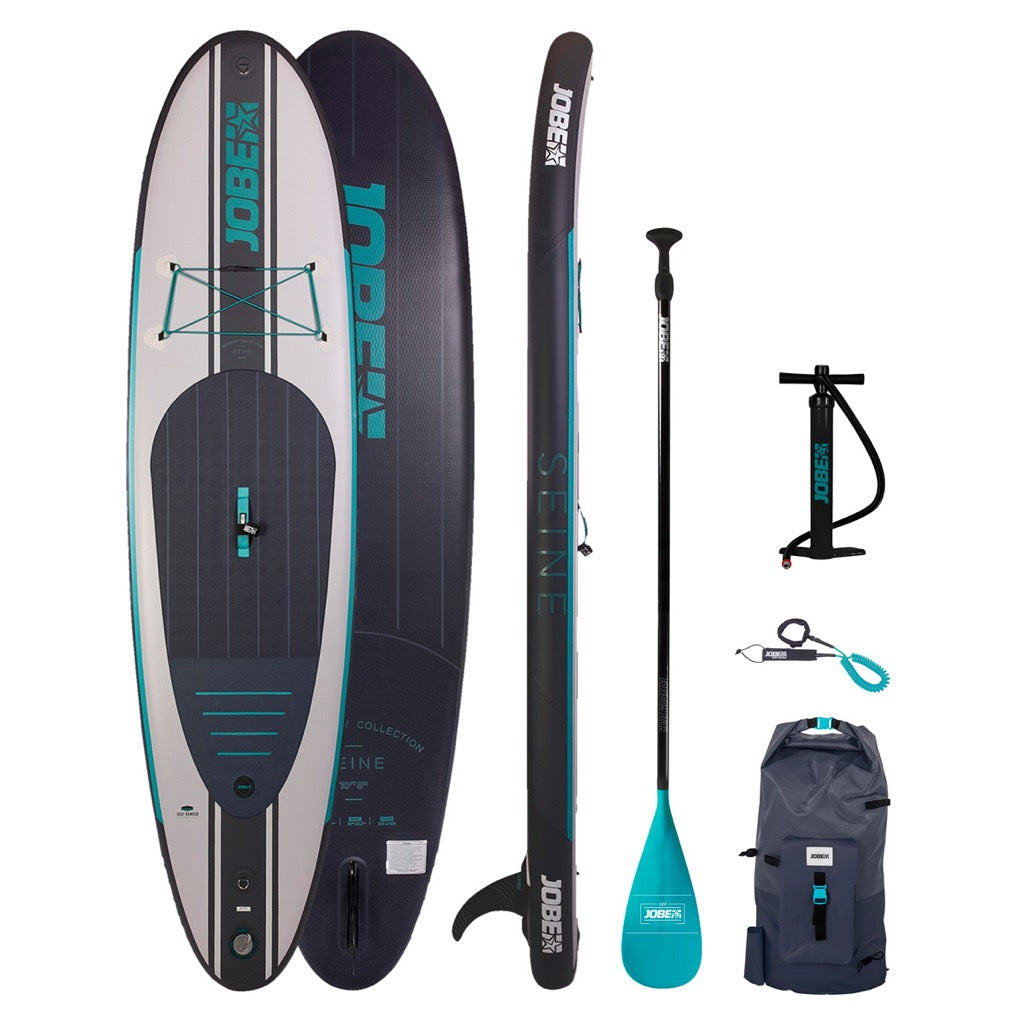 Jobe Seine 10.6 Inflatable SUP Paddle Board Package 2020