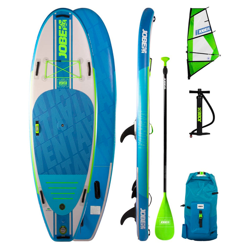 Jobe 2020 Aero Venta 9.6 SUP and Windsurf Package