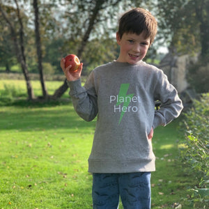 Aqua Living Planet Hero Kids Jumper - Orange