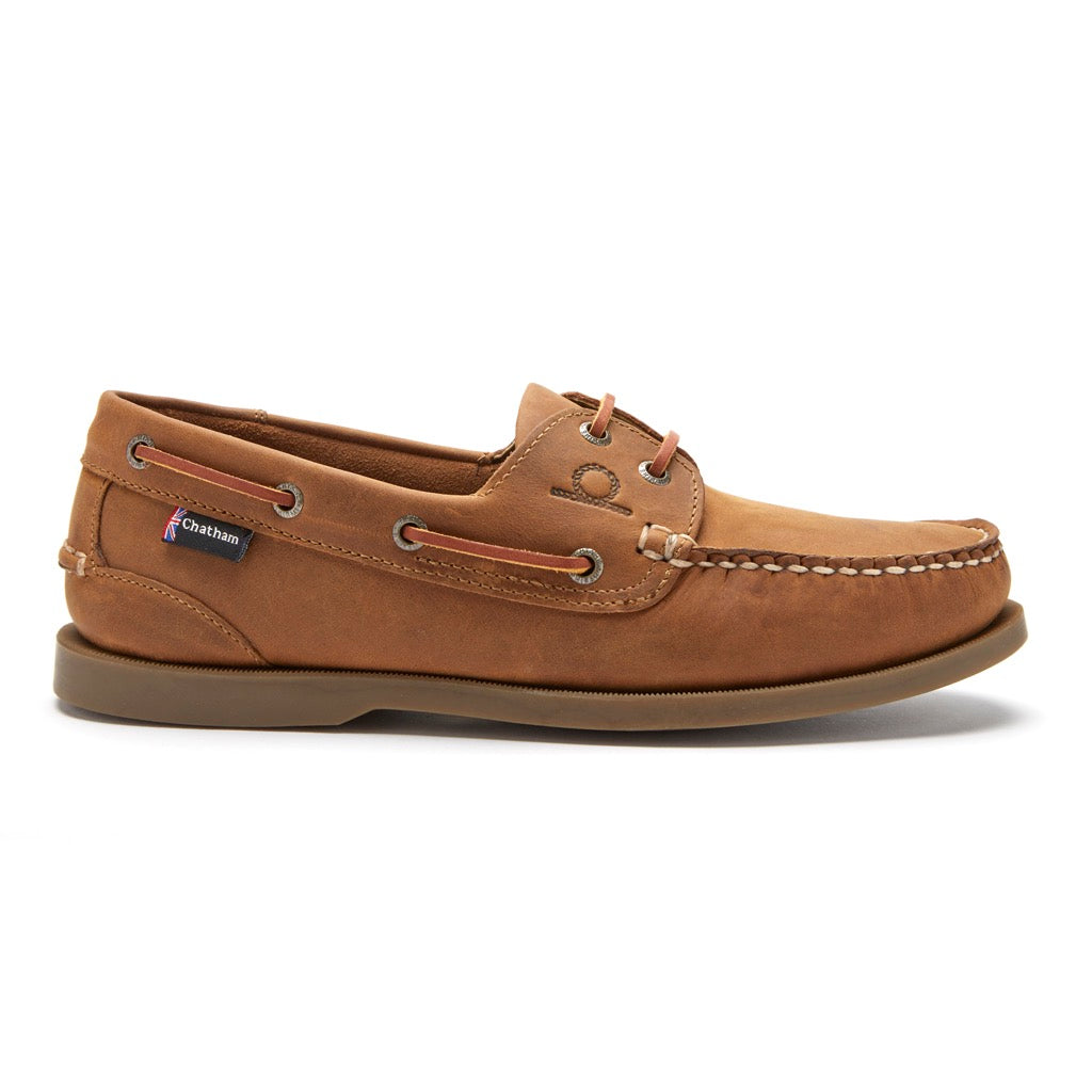 Chatham Mens Deck II G2 Premium Leather Boat Shoe