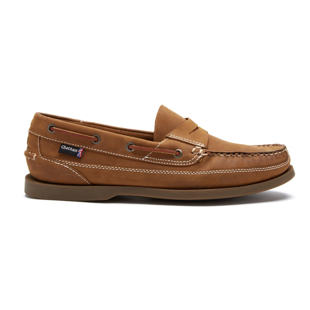 Chatham Men's Gaff II G2 Slip On Penny Loafer Shoes