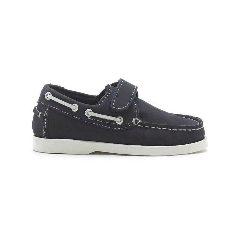 Chatham Oliver Kids Deck Shoe - Navy