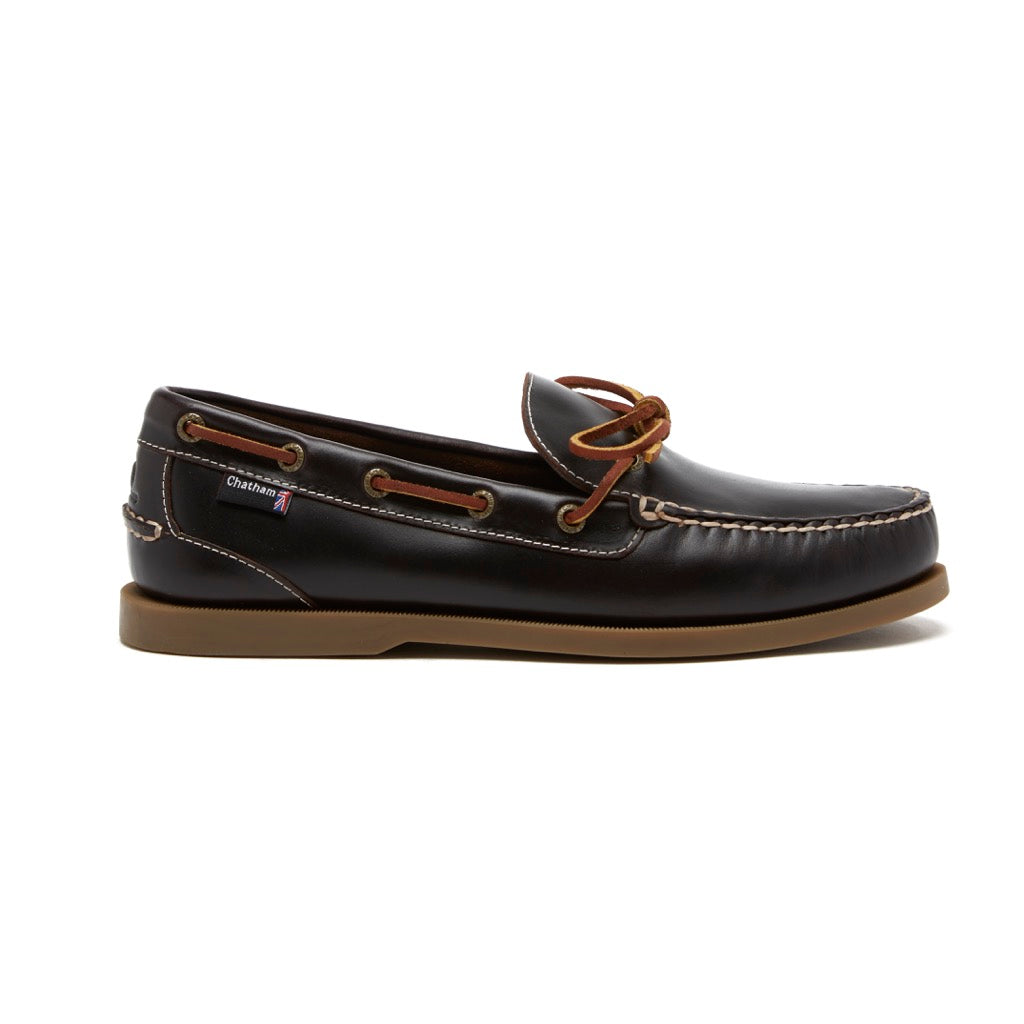 Chatham Men's Saunton G2 Slip-On Leather Deck Shoes