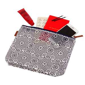 Sunnylife Travel Makeup Bag Azule