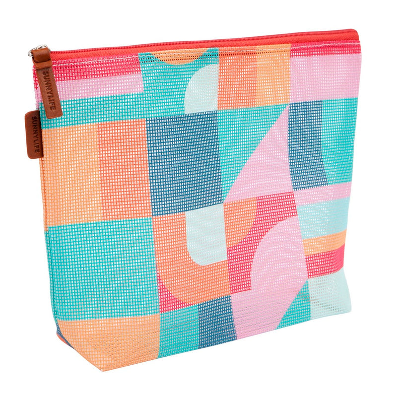 Sunnylife Mesh Makeup Bag Islabomba