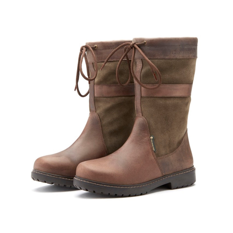 Chatham Women's Paddock Mid Calf Waterproof Boots