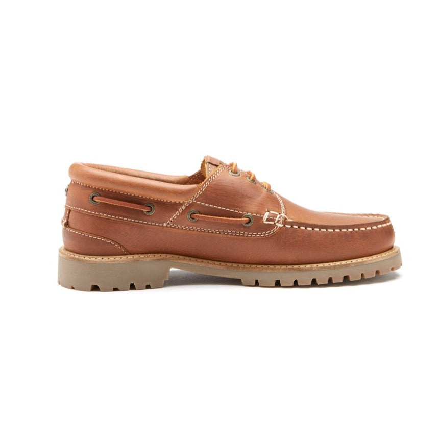 Chatham Mens Sperrin Outdoors Leather Boat Shoe
