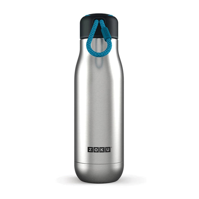 Zoku 500ml Vacuum Insulated Stainless Steel Water Bottle - Silver