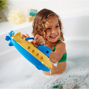 Green Toys Kids Eco Yellow Submarine | Bath Toys