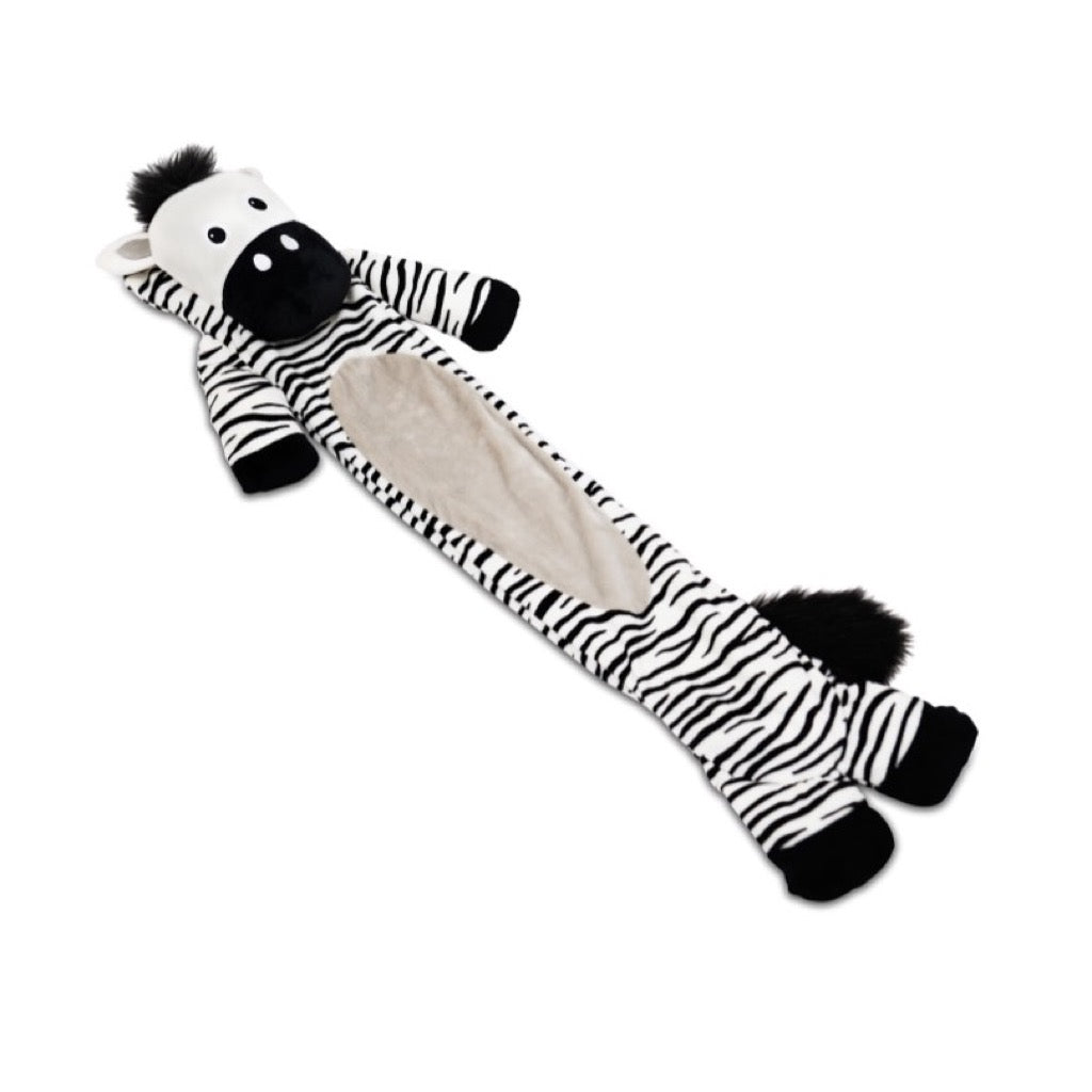 Zavi the Zebra Long Hot Water Bottle For Kids & Teens - Potwells