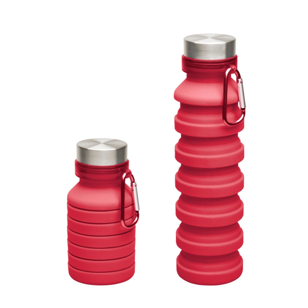 Scrunch Collapsible Travel Water Bottle