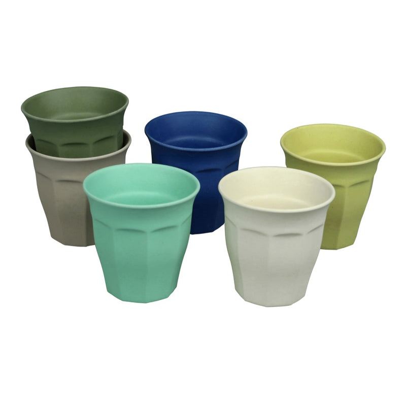 Cupful of Colour Bamboo Cup Set