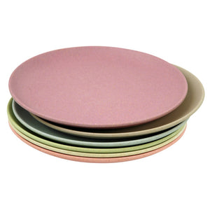 Set of 6 Bamboo Plate Set - Take the Cake