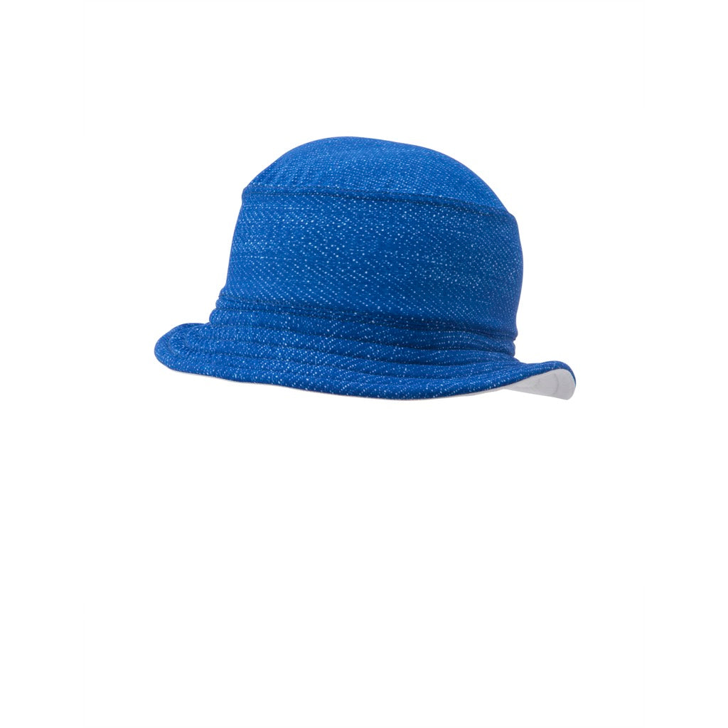 Indigo Waves Bucket Hat Denim