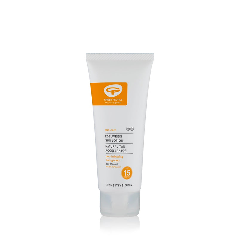Green People Scent Free Sun Lotion Travel Size - SPF15 100ml