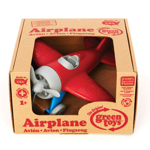 Green Toys Kids Red Wings Eco Airplane | Toy Aeroplane