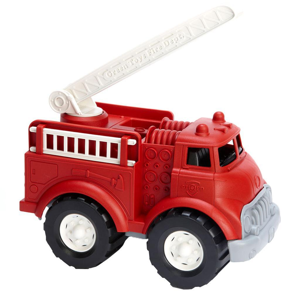 Green Toys Kids Eco Toy Fire Truck