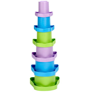 Green Toys Kids First Stacking Cups | Bath Toys