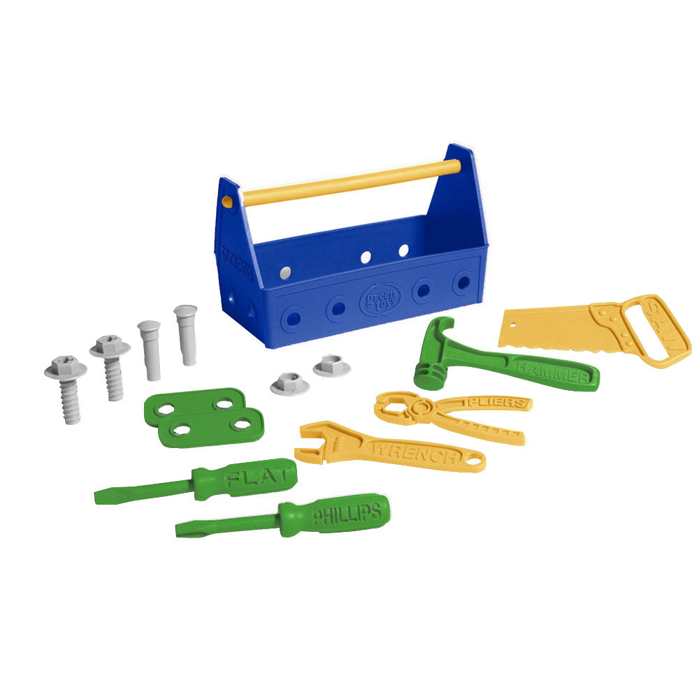 Green Toys Kids Eco Toolbox Set