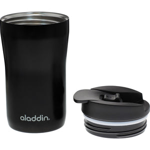Aladdin Eco Compact Leak-Proof Travel Coffee Cup, 250ml - Black