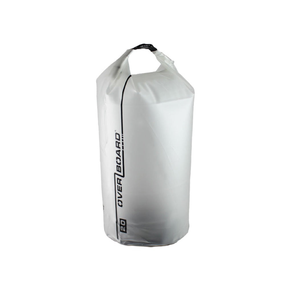 OverBoard 20L Pro-Light Clear Dry Tube Waterproof Bag