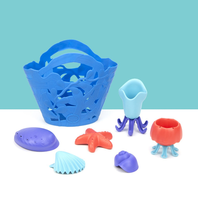 Green Toys OceanBound Bath Toy Set
