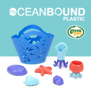 Green Toys OceanBound Kids Bath Toy Set | Eco Bath Toys