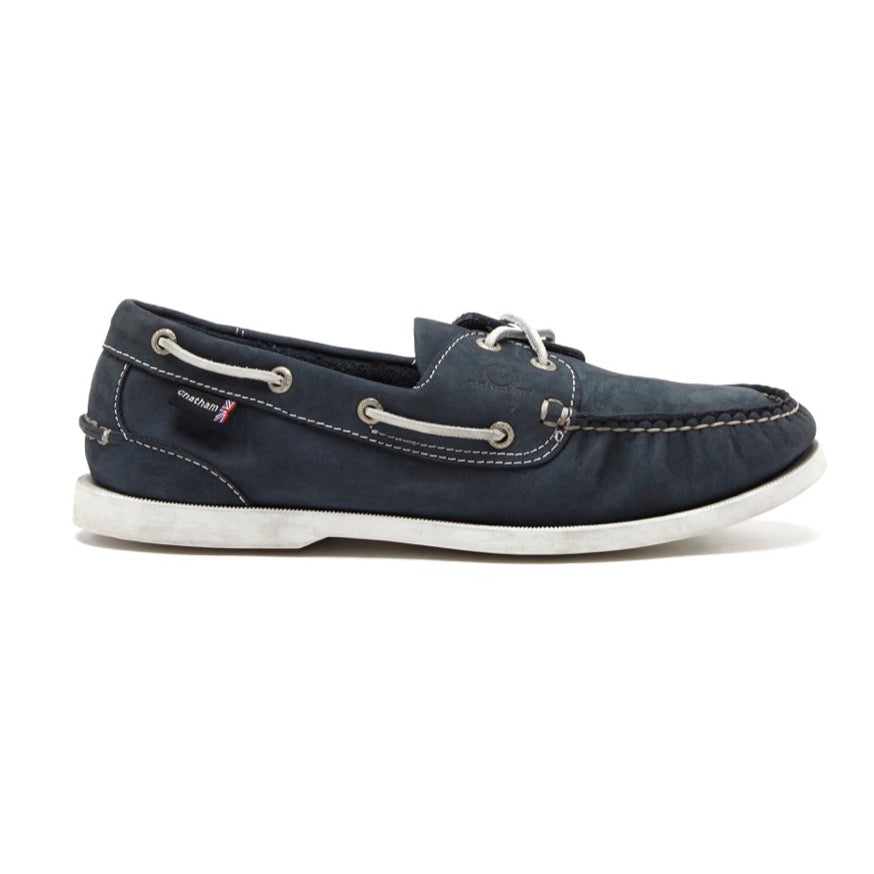 Chatham Pacific II G2 Mens Deck Shoe - Navy, Grey or Stone