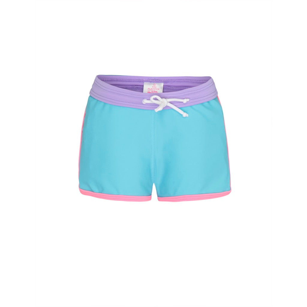 Sherbert Colour Blocked - Lycra Boardshorts